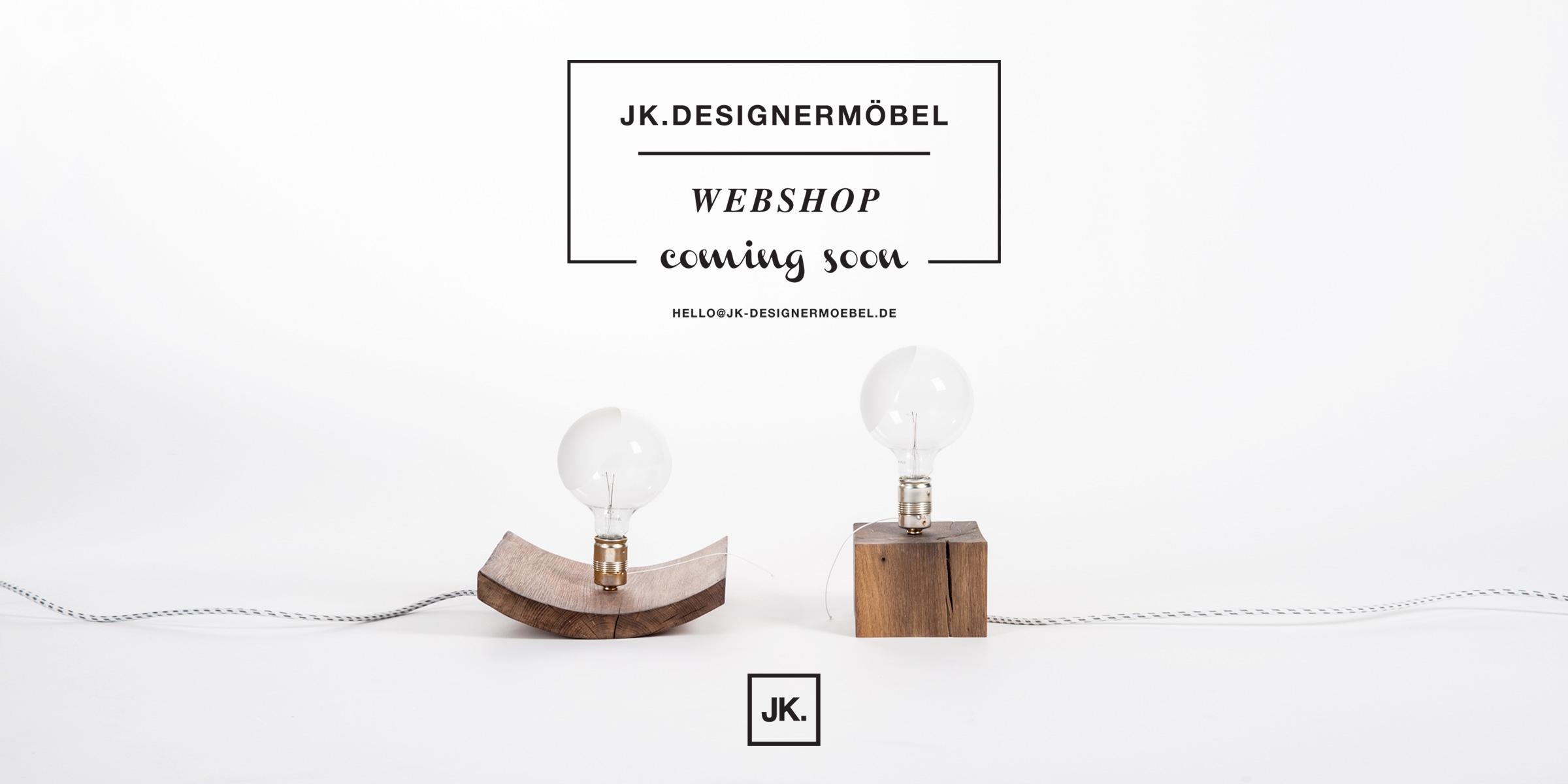 JK.Designermöbel Webshop coming soon
