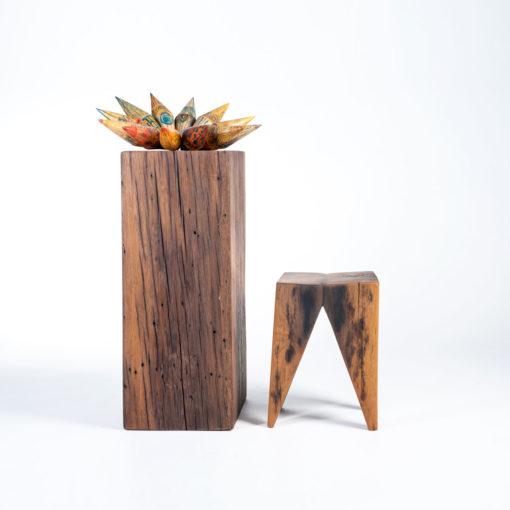 Dekoelement ASTERIA und Sockel TILO, JK. Möbeldesign