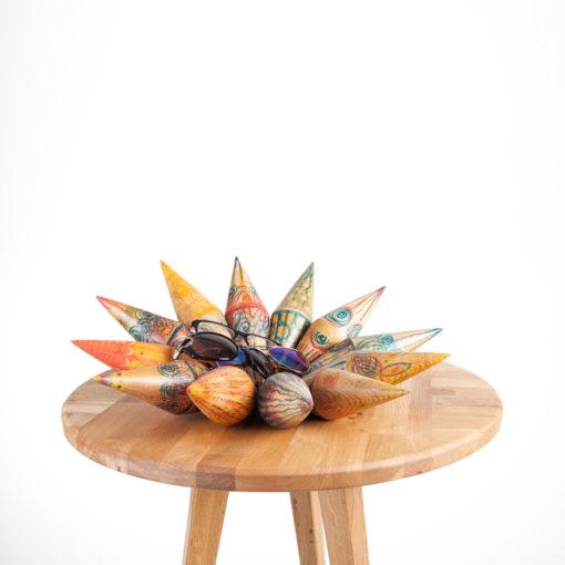 Dekoelement ASTERIA und Tisch LEWIN, JK. Möbeldesign