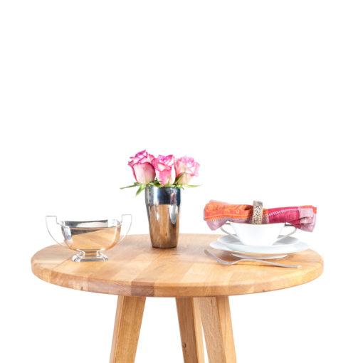 Serviettenringe FRIEDEL und Tisch LEWIN, JK. Möbeldesign