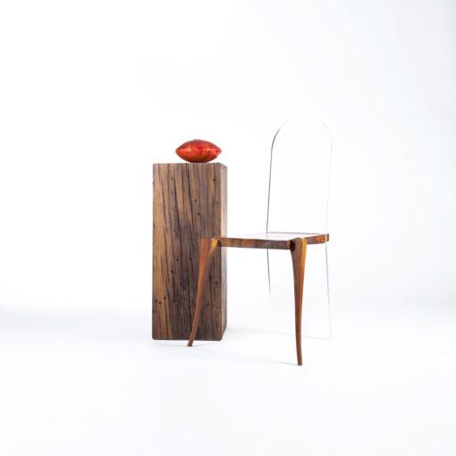Stuhl FIDELIS mit Sockel TILO, JK. Designermöbel