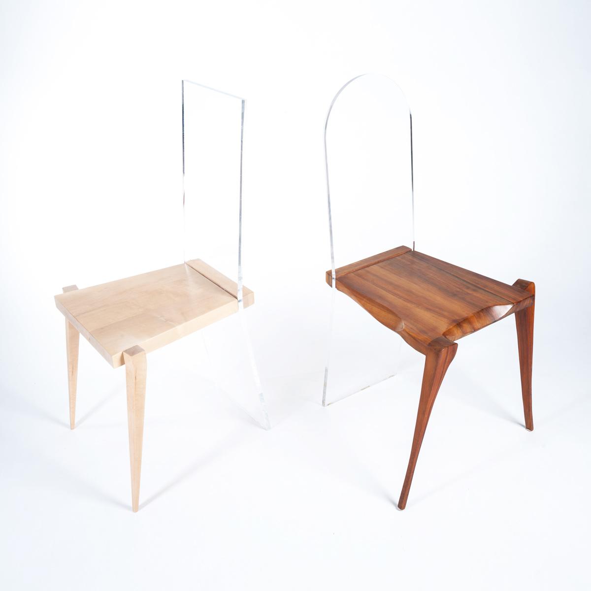 Stuhl KALLISTUS und Stuhl FIDELIS, JK. Designermöbel