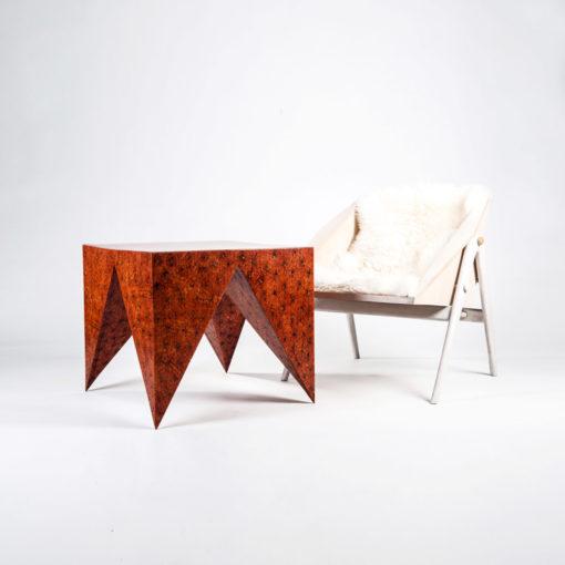 Tisch FRIDA und Stuhl FROWIN, JK. Designermöbel