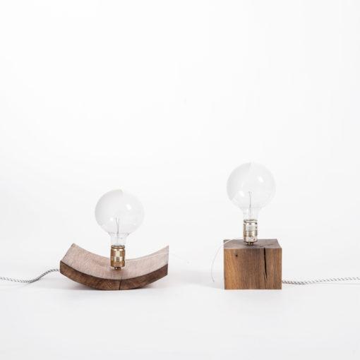Lampe BALDUR und Lampe ELLEN, JK. Designermöbel