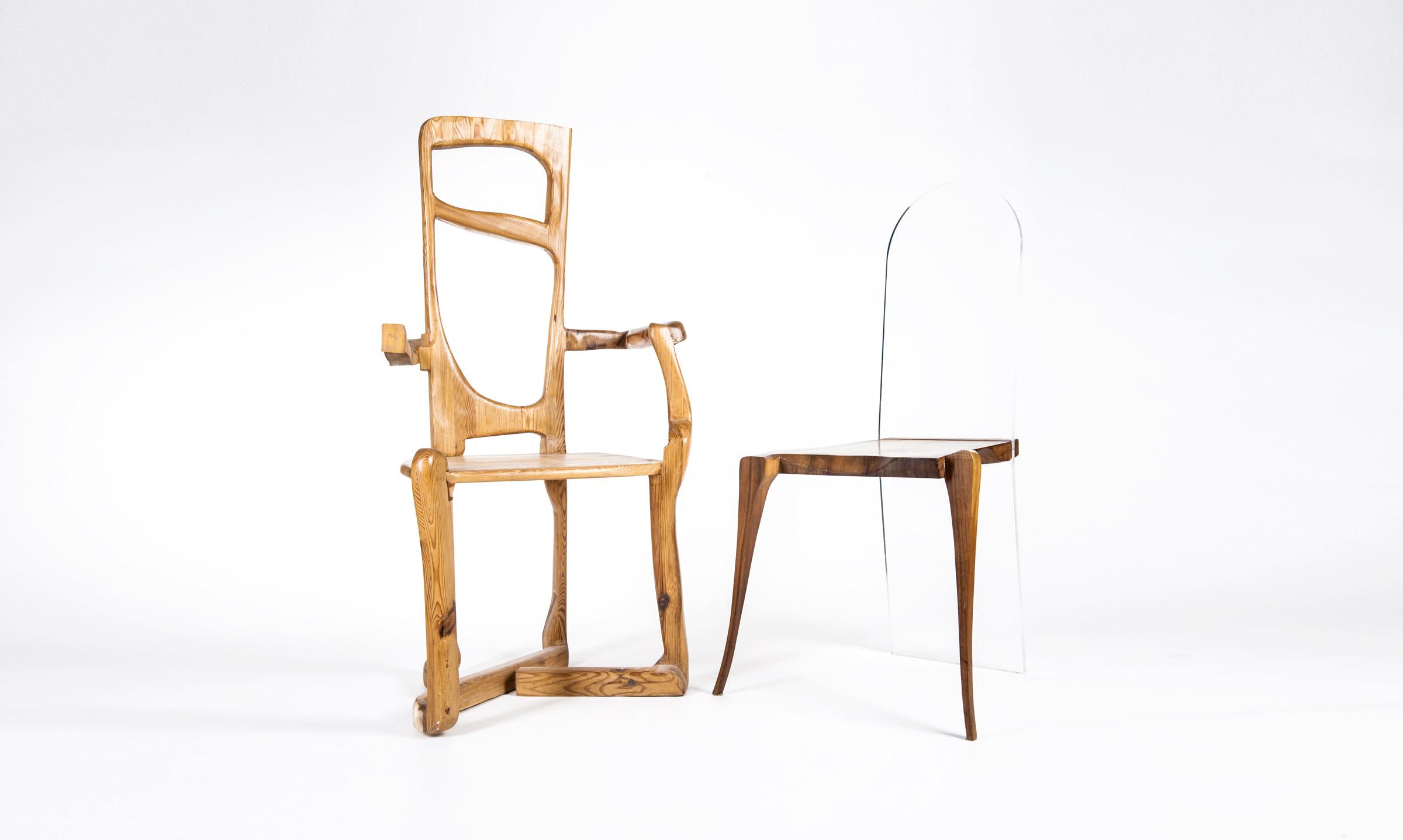 JK. – 90er Jahre Stuhl und Stuhl FIDELIS